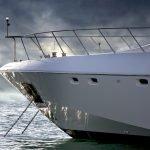 Superyacht in Dubai Marina